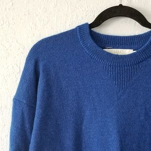 H&M Royal Blue Sweater Medium NWT